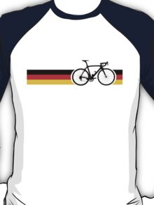 Bike Stripes German National Road Race T-Shirt