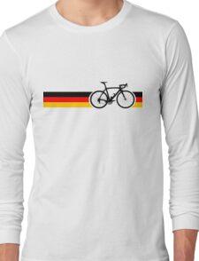 Bike Stripes German National Road Race Long Sleeve T-Shirt