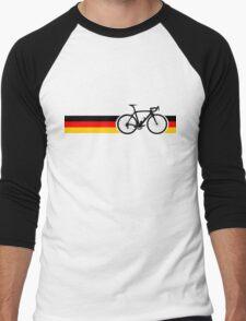 Bike Stripes German National Road Race Men's Baseball ¾ T-Shirt