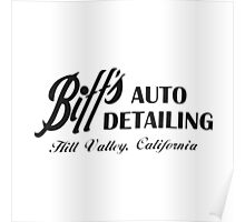 Biff's Auto Detailing Poster