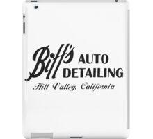 Biff's Auto Detailing iPad Case/Skin