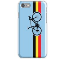 Bike Stripes Belgian National Road Race iPhone Case/Skin