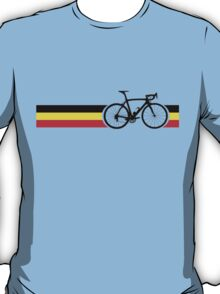 Bike Stripes Belgian National Road Race T-Shirt