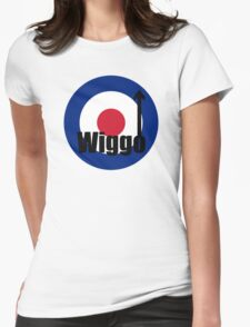 Wiggo Mod Womens Fitted T-Shirt
