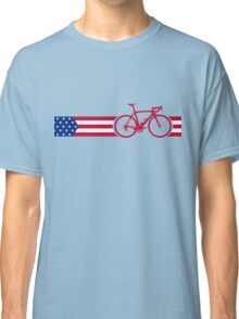 Bike Stripes USA v2 Classic T-Shirt