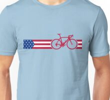 Bike Stripes USA v2 Unisex T-Shirt