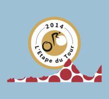 Red Polka Dot 2014 L'Etape du Tour Mountain Profile v2 by sher00