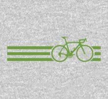 Bike Stripes Green by sher00
