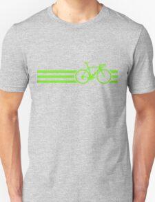 Bike Stripes Green T-Shirt