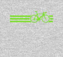 Bike Stripes Green Unisex T-Shirt