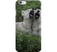 Howlin' good time  iPhone Case/Skin