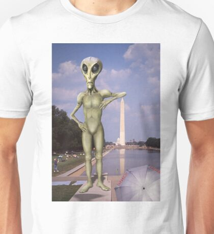 Alien Vacation - Washington D C Unisex T-Shirt