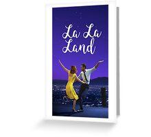 LalaLand Greeting Card
