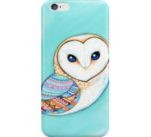 Tribal Pattern Barn Owl iPhone Case/Skin