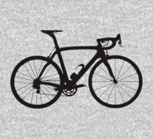 Bike Black (Big) One Piece - Long Sleeve
