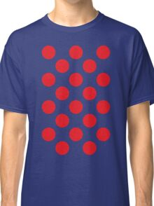 Red Polka Dot (King of the Mountains) Classic T-Shirt