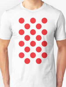 Red Polka Dot (King of the Mountains) T-Shirt