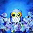 Lunar Owl by Annya Kai