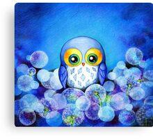 Lunar Owl Canvas Print