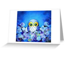 Lunar Owl Greeting Card