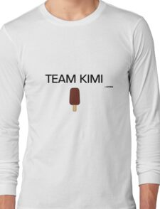 Team Kimi Long Sleeve T-Shirt