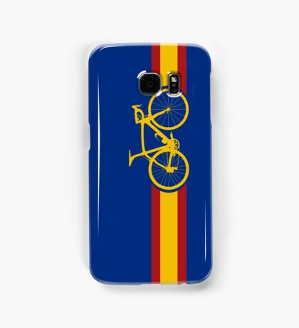 Bike Stripes Spanish National Road Race Samsung Galaxy Case/Skin