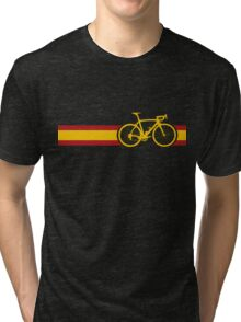 Bike Stripes Spanish National Road Race Tri-blend T-Shirt