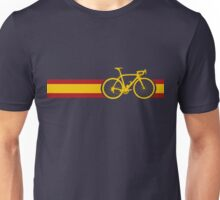 Bike Stripes Spanish National Road Race Unisex T-Shirt