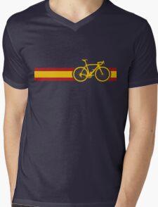 Bike Stripes Spanish National Road Race Mens V-Neck T-Shirt