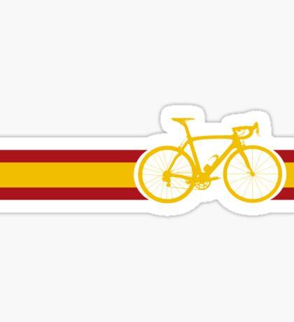 Bike Stripes Spanish National Road Race Sticker