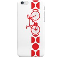 Bike Stripes King of the Mountains (Red) iPhone Case/Skin