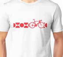 Bike Stripes King of the Mountains (Red) Unisex T-Shirt
