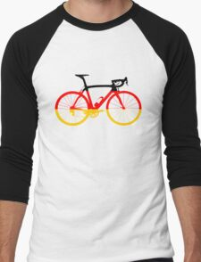 Bike Flag Germany (Big) Men's Baseball ¾ T-Shirt