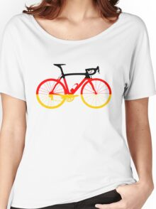 Bike Flag Germany (Big) Women's Relaxed Fit T-Shirt