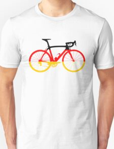 Bike Flag Germany (Big) Unisex T-Shirt