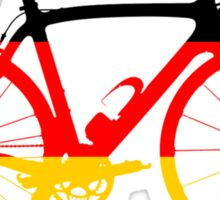 Bike Flag Germany (Big) Sticker