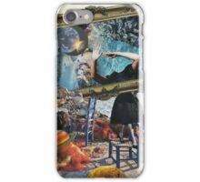 Two worlds collide iPhone Case/Skin