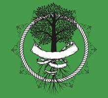 Yggdrasil - Family, Union, Togetherness, Oneness With The World by Sarah Ball (TheMaggotPie)