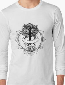 Yggdrasil - Family, Union, Togetherness, Oneness With The World Long Sleeve T-Shirt