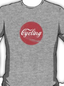 Cycling Cola Chainring T-Shirt