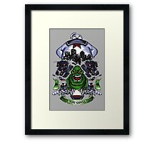 Ghostbuster Framed Print