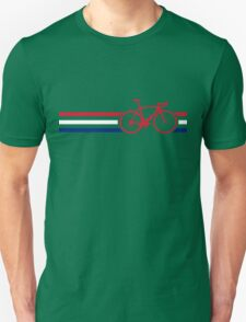 Bike Stripes British National Road Race v2 Unisex T-Shirt