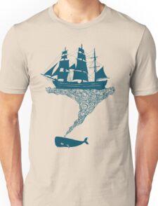 Exhaling flotsam Unisex T-Shirt