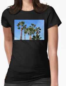 Ventura Palm Trees Womens Fitted T-Shirt