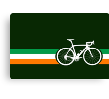 Bike Stripes Irish National Road Race Canvas Print