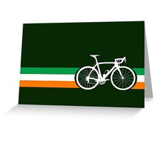 Bike Stripes Irish National Road Race Greeting Card