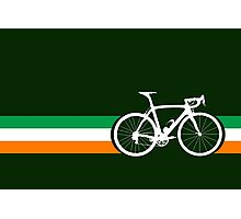 Bike Stripes Irish National Road Race Photographic Print