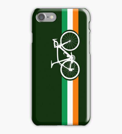 Bike Stripes Irish National Road Race iPhone Case/Skin