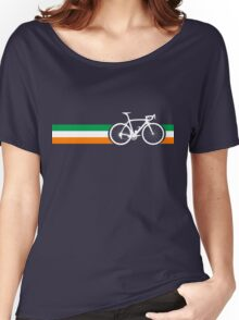 Bike Stripes Irish National Road Race Women's Relaxed Fit T-Shirt