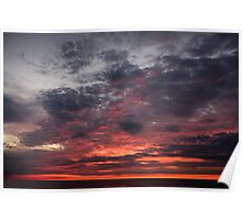 Lake Huron Sunset Poster